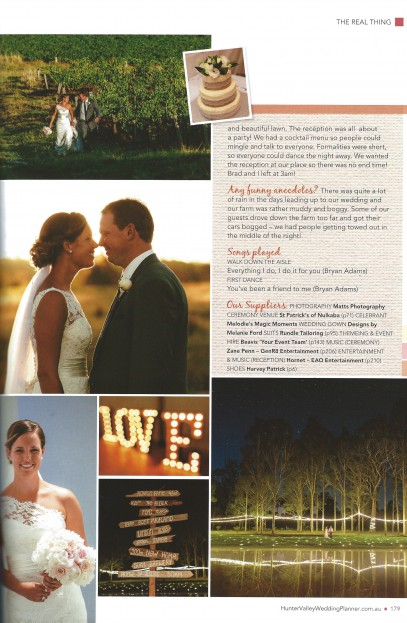 Hunter Valley Wedding Planner EventHaus