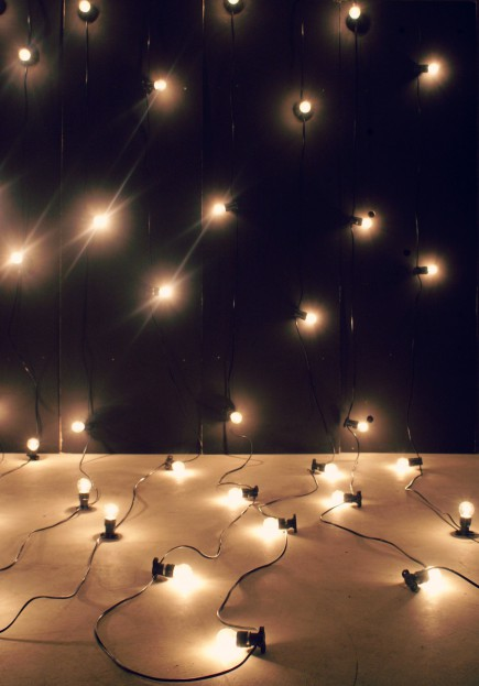 Festoon light backdrop EventHaus
