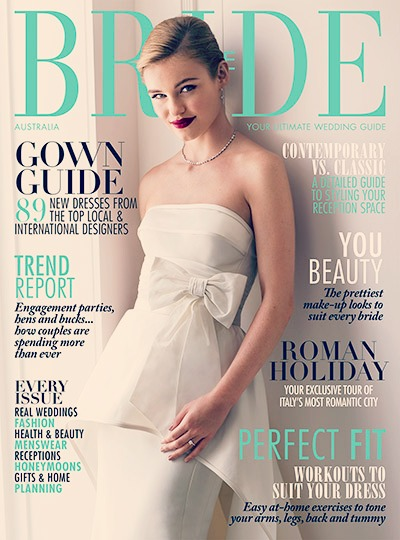 Bride to Be Mag May 2015 cover